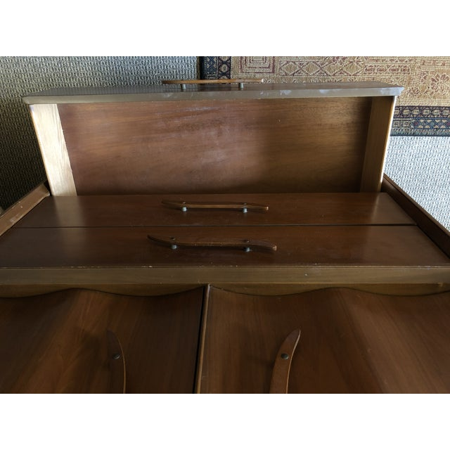 1950s Mid-Century Modern Highboy For Sale - Image 11 of 13