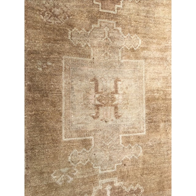"Vintage Turkish Oushak Rug - 7'3"" x 11'4"". - Image 8 of 8"