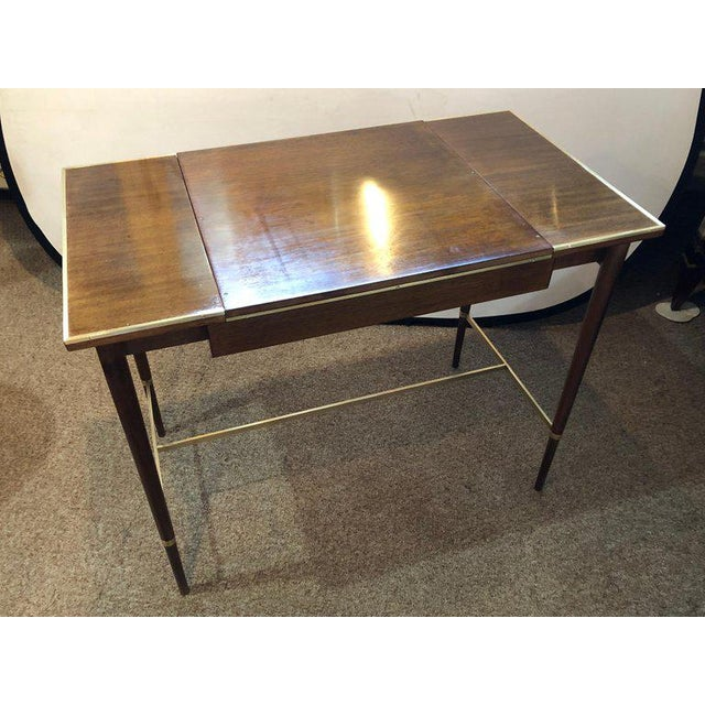 "1950s MCM Game / Card Table ""The Paul McCobb Connoisseur Collection"" Fully Refinished For Sale - Image 5 of 13"