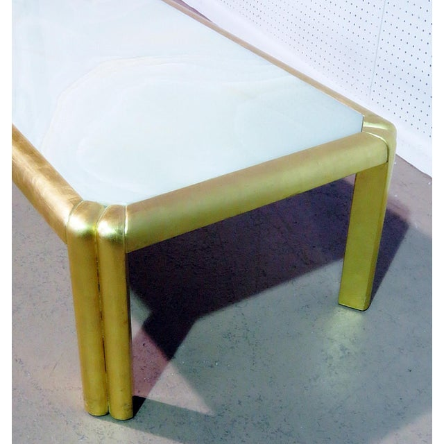 Mid Century Hollywood Regency Style Coffee Table For Sale - Image 4 of 7