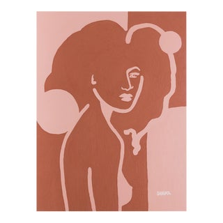 """Angela Seear """"Octavia"""" Contemporary Original Painting For Sale"""