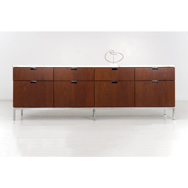 Florence Knoll Marble Top Credenza For Sale - Image 9 of 10
