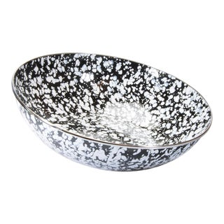 Catering Bowl Black Swirl - 5 qts. For Sale
