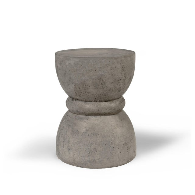 Dark Gray Phillip Stool, Dark Grey For Sale - Image 8 of 8