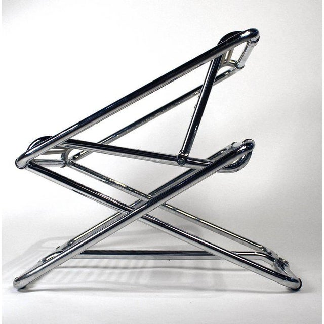 Metal Ron Arad 'One Off' Rocking Chair For Sale - Image 7 of 8