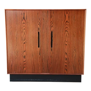 Westnofa Scandinavian Modern Rosewood Gentleman's Chest For Sale