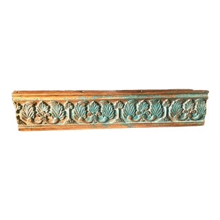 Antique Indian Rosewood Temple Door Beam For Sale