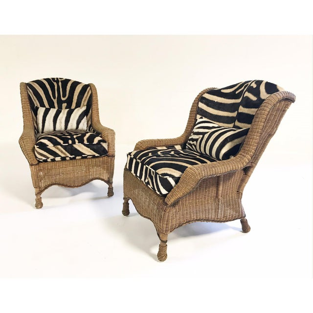 If we had a farm in Africa, at the foot of the Ngong Hills, these beautiful wingbacks would be there. The wicker is in...
