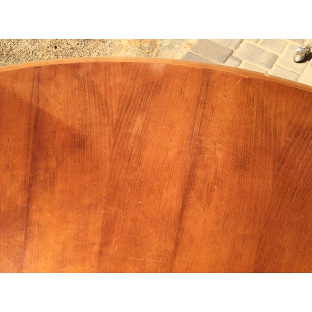 Grange Cherry Pedestal Dining Table For Sale - Image 5 of 6