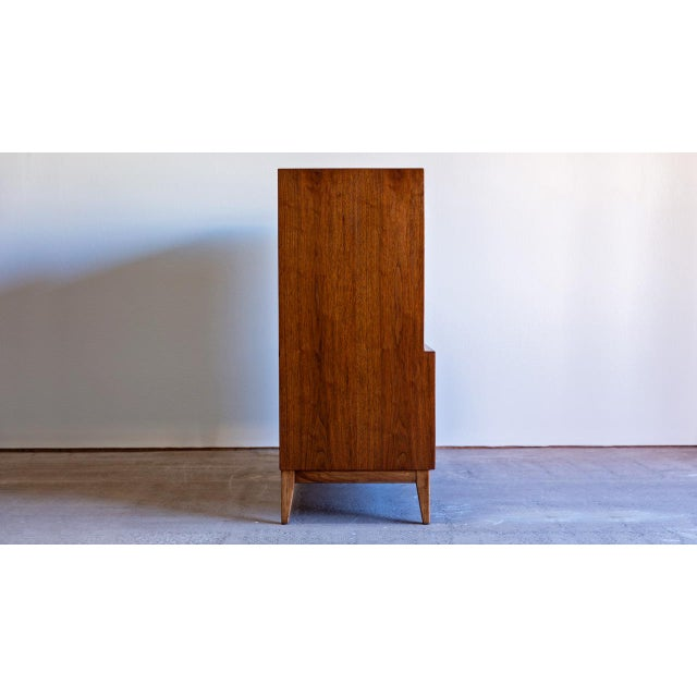 1960s 1960s Century Modern Thomasville Highboy Dresser For Sale - Image 5 of 8