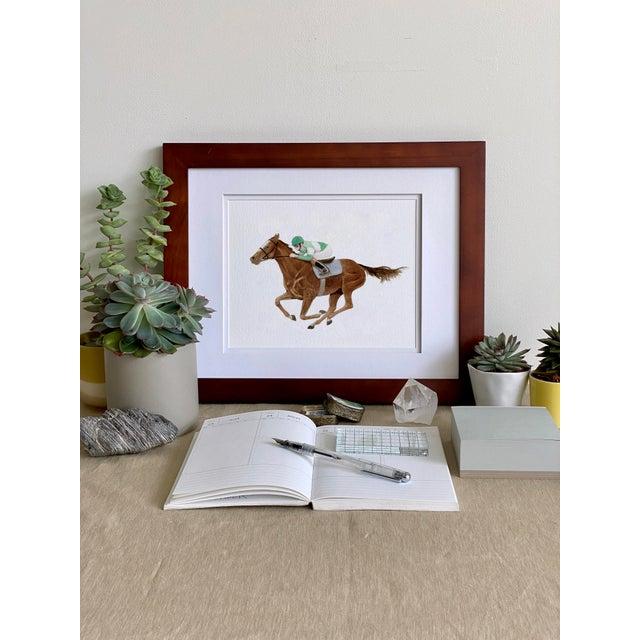 """Saratoga Eleven"" Giclée Art Print by Felix Doolittle - 8x10 - Race Horse For Sale - Image 4 of 5"