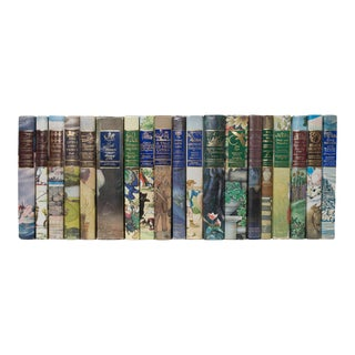Illustrated Junior Library Book Set - Set of 19 For Sale