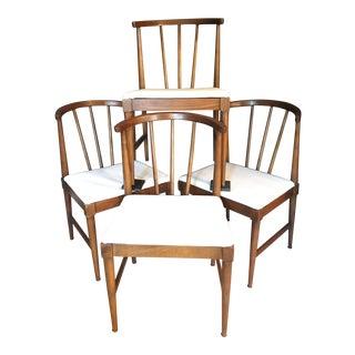 Danish Mid-Century Wishbone Style Chairs - Set of 4