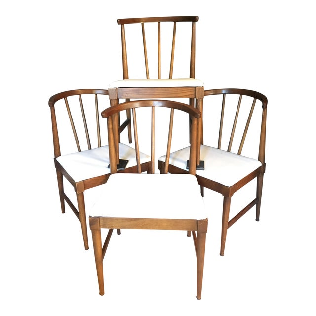 Danish Mid-Century Wishbone Style Chairs - Set of 4 - Image 1 of 7