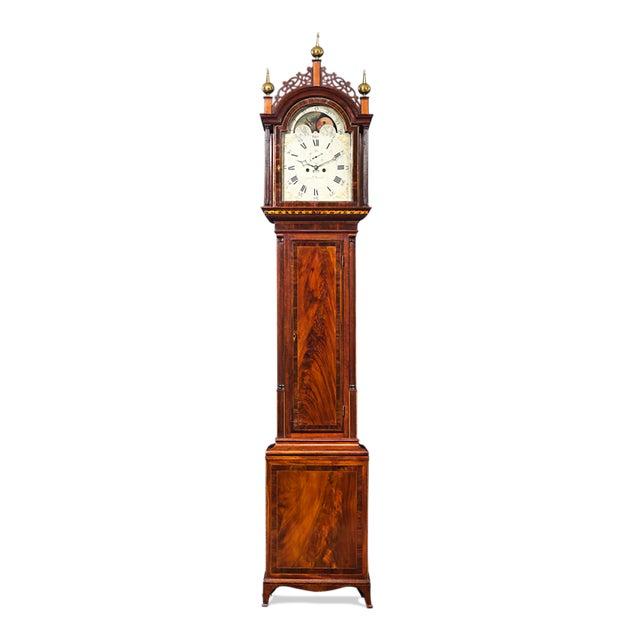 Simon Willard Roxbury Tall Case Clock For Sale - Image 10 of 10