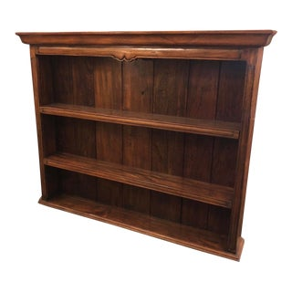 Vintage Designer French Country Hanging Whatnot Bookcase For Sale