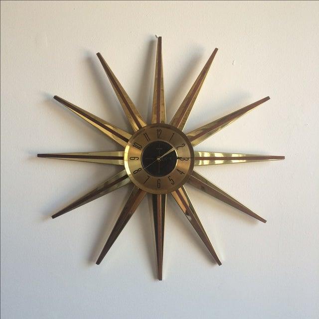 Welby Atomic Starburst Clock - Image 2 of 7