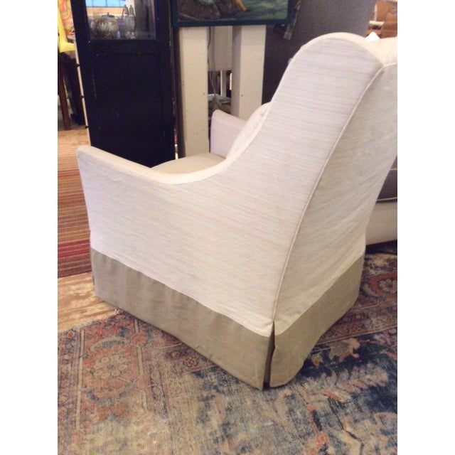 Modern Lee Industries Swivel Chair Item # 3471-01sw For Sale In Washington DC - Image 6 of 8