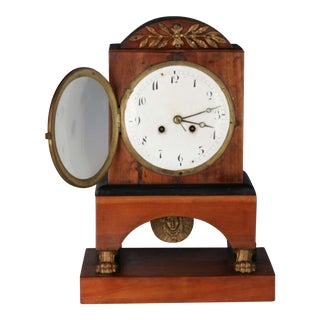 19th Century Biedermeier Style Shelf Clock