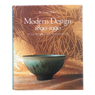 R. Craig Miller Modern Design in the Metropolitan Museum of Art New York 1899-1990 First Printing Coffee Table Book For Sale