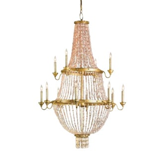 Currey & Co. Loulou Chandelier For Sale