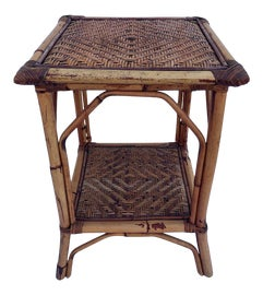 Image of British Colonial Side Tables