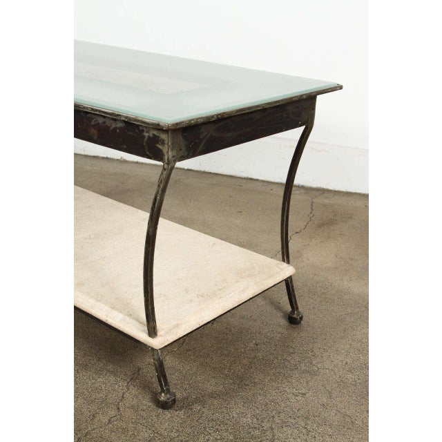 Asian Architectural Relief Made Into a Coffee Table For Sale - Image 4 of 9