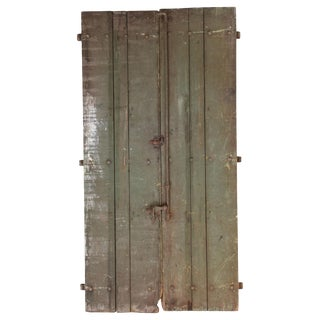Pair of 19th Century Shutter Doors