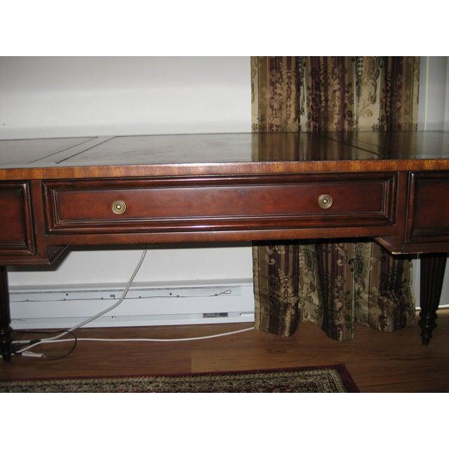 Ethan Allen Newport Edwardian Desk - Image 5 of 11