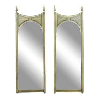 Mid-Century Modern Green Walnut Mirrors For Sale