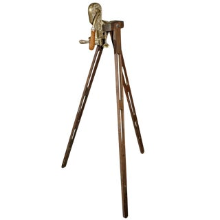 """""""Monterey"""" Wine Bottle Opener on Tripod Stand For Sale"""