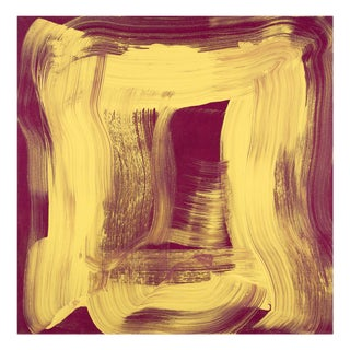 "Anne Russinof ""Yellow Sheen"", Painting For Sale"