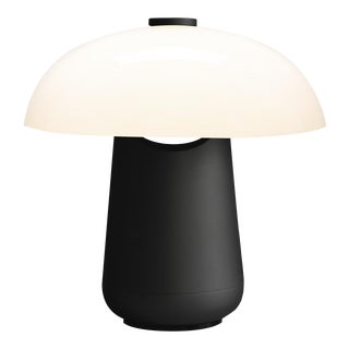 Contardi Ongo Metal Table Lamp, Black and White For Sale