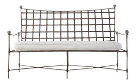 Image of Mid-Century Modern Outdoor Benches