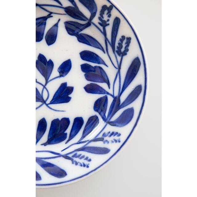Traditional Antique Dutch Delft Maastricht Plates - a Pair For Sale - Image 3 of 7