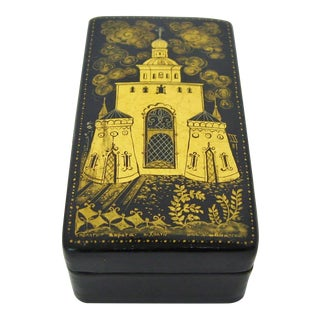 Soviet-Era Trinket Box For Sale