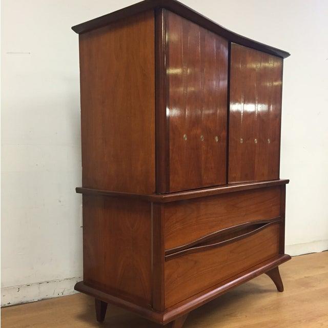 Walnut Mid-Century Dresser - Image 4 of 11