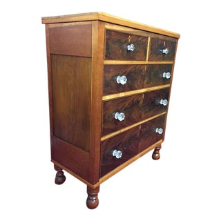 Antique Mahogany Chest For Sale