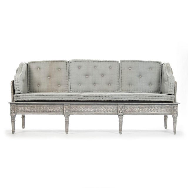 Ridgeway Bench in Slate Gray For Sale In Atlanta - Image 6 of 6