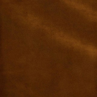 Schumacher Rocky Performance Velvet Fabric in Nutmeg For Sale