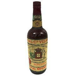 Early 1900s Portuguese Wine Bottle For Sale