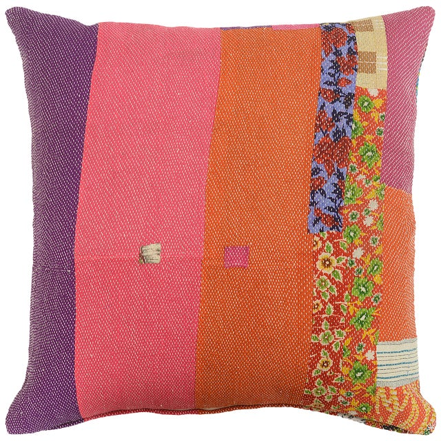 Boho Chic Boho Chic July Sandwich Pillow For Sale - Image 3 of 4