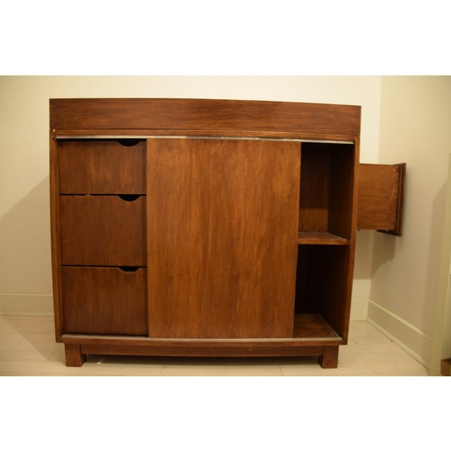 Mid-Century Dresser W/ Removable Changing Table - Image 2 of 4