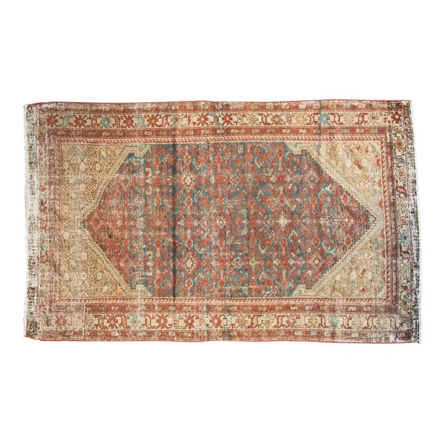 "Antique Malayer Rug - 4'1"" x 6'7"" - Image 1 of 10"