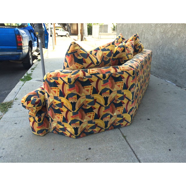 Angelo Donghia Memphis Upholstered Sofa - Image 6 of 8