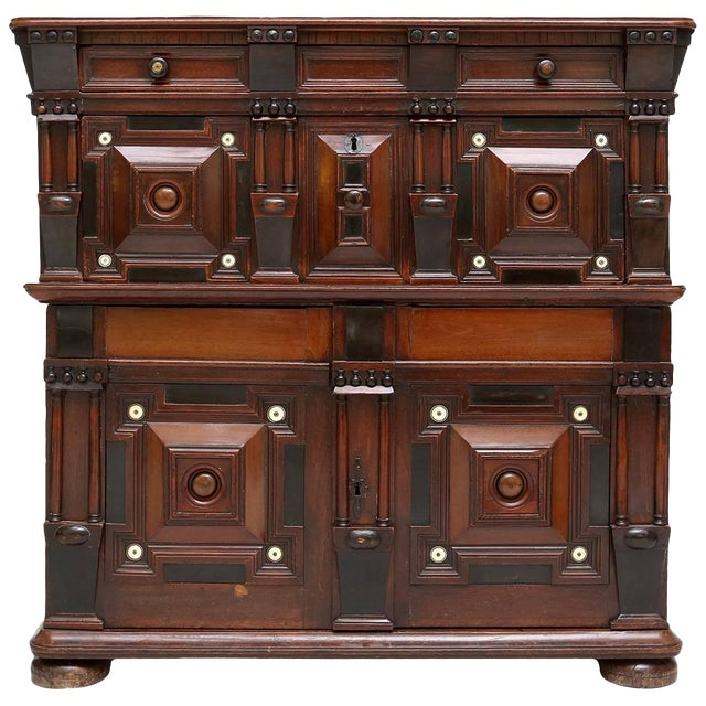 Antique Brutalist Chest For Sale