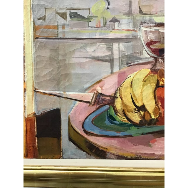 1950s Mid-Century Still Life Painting For Sale - Image 5 of 12