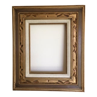 Carved Gold Wooden Frame