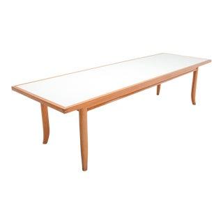American Modern Oak Dining Table by Robsjohn Gibbings For Sale