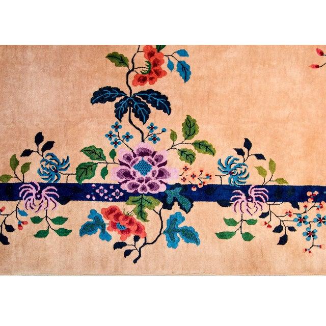 Wonderful Nichols Chinese Art Deco Rug For Sale - Image 4 of 7